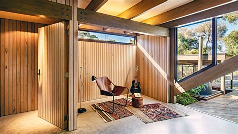 australian house music cabin 2 a contemporary small retreat by maddison architects