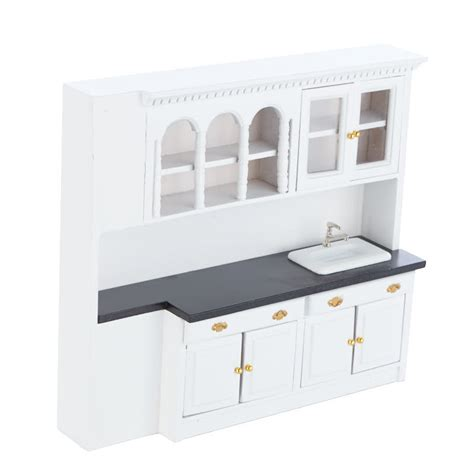 dollhouse kitchen sink dollhouse miniature white kitchen sink and cabinets