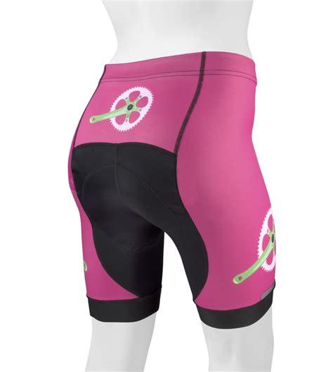 bike clothing women s printed bike shorts strawbery fields cute bike