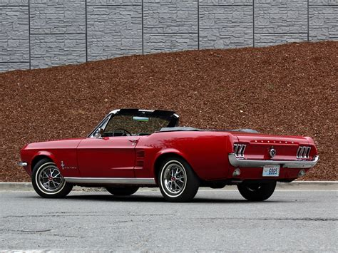 1967 ford mustang convertible muscle classic gw wallpaper