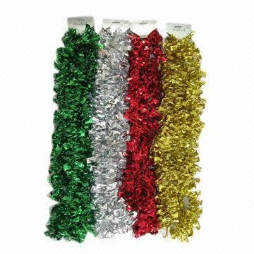christmas tinsel garland global sources