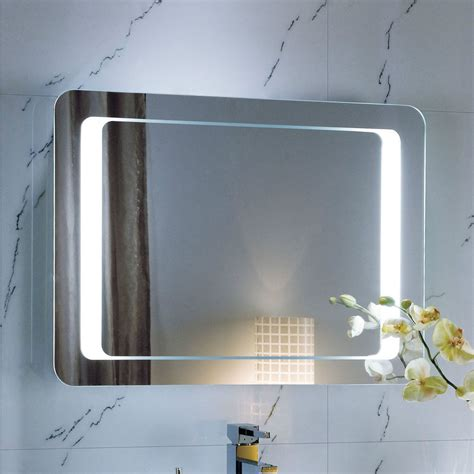 large bathroom mirrors with lights lighted bathroom mirrors large illuminated led bathroom