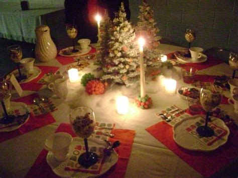christmas tea table decoration themes tea time all