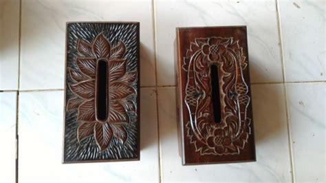 Kerajinan Kayu Jati Tempat Cantolan Baju jual kerajinan kayu jati tempat tisu tempat tisu 40rb inspiring id