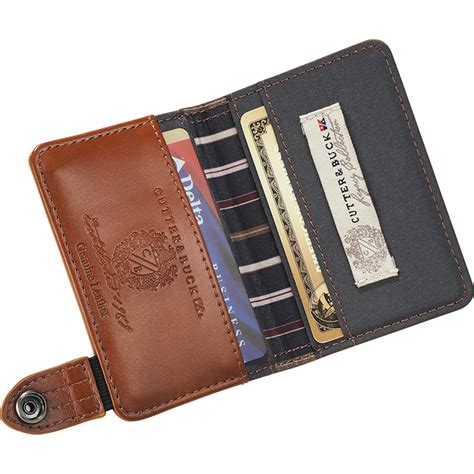 how to make a leather card holder legacy leather wallet id business card holder