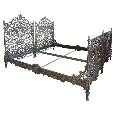 in bed with dj battle cast iron beds pair of cast iron italian beds for sale at