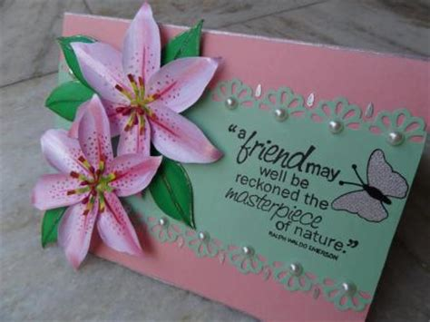 Handmade Friendship Greeting Cards - 8 amazing gift ideas for friendship day health cure tips