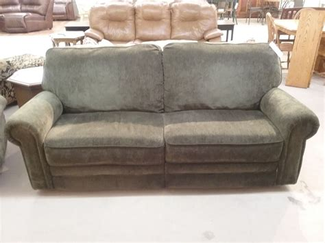 green reclining sofa green berkline reclining sofa delmarva furniture consignment