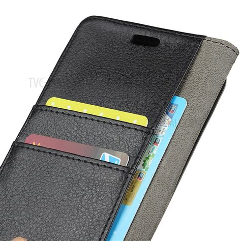 Samsung A8 2018 New Baby Skin High Copy litchi skin leather wallet for samsung galaxy a5