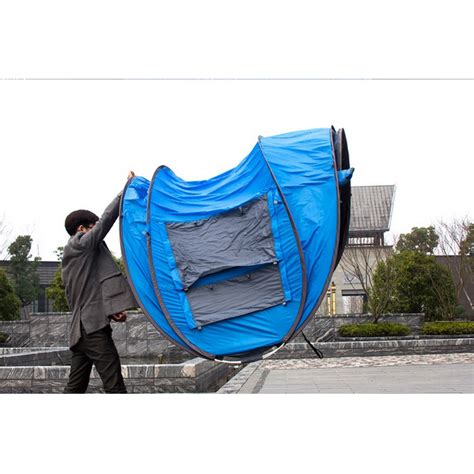 Tenda Waterproof tenda cing windproof waterproof blue jakartanotebook