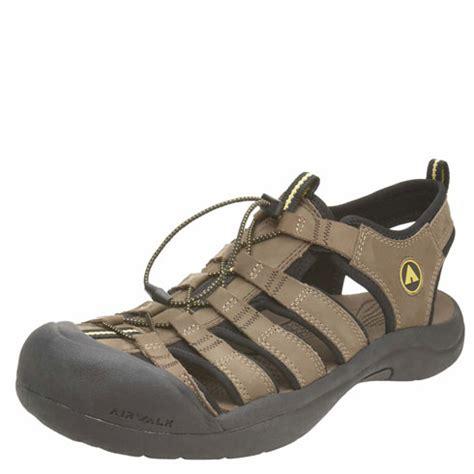 airwalk brown leather excel bumptoe sling gosale price
