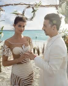Flowers Fontana - isabeli fontana wears a completely see through gown for