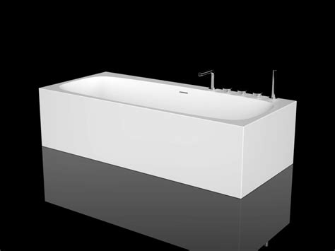 rectangular cristalplant 174 bathtub ark by boffi design