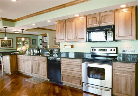 tri level home kitchen design lake kegonsa tri level remodel traditional kitchen other metro by degnan design builders