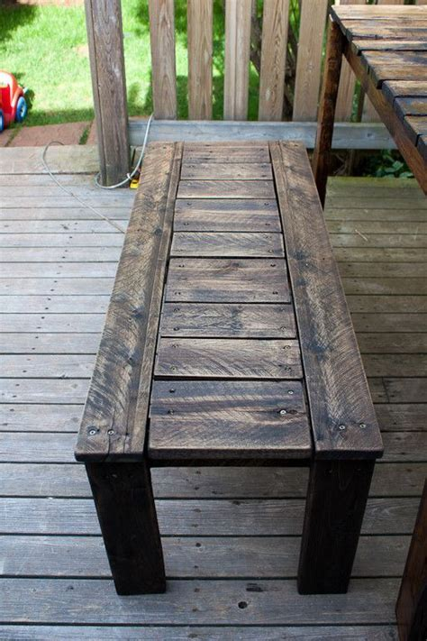rustic benches from reclaimed pallets 1001 pallets outdoor patio set made with recycled wooden pallets