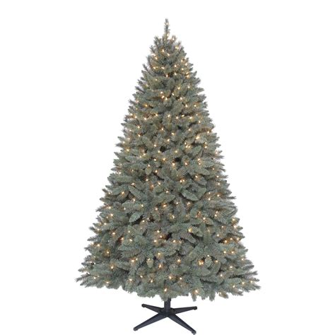 sears roebuck prelit christmas tree pre lit 6 5 foot artificial tree kick sears