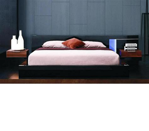 alaska bedroom furniture dreamfurniture com alaska night modern black lacquer bed
