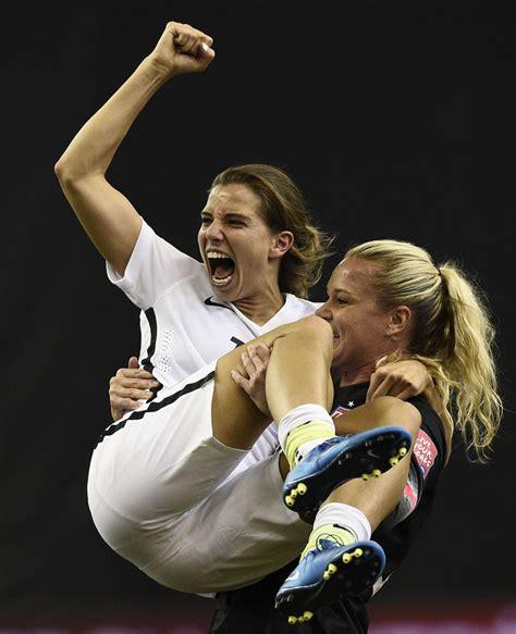 Olympic Auto Heide by U S Beats Germany 2 0 In Women S World Cup Semi Final