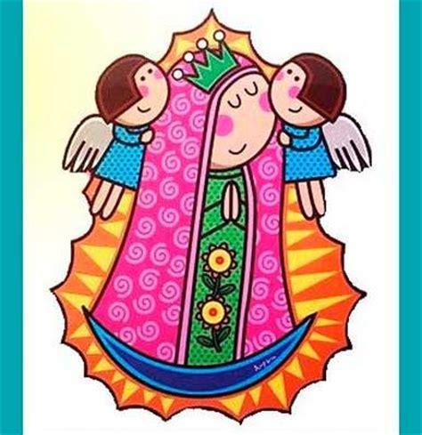 imagenes virgen maria en caricatura guadalupe en caricatura imagenes de virgen de guadalupe
