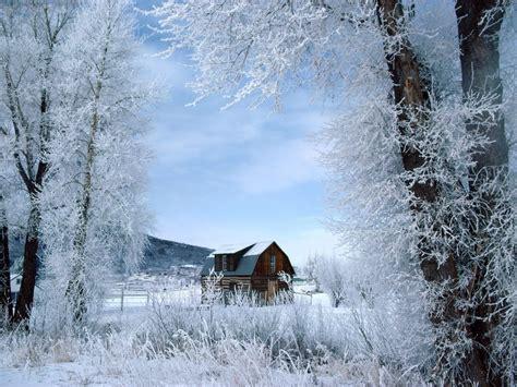 imagenes de paisajes de invierno fondos de refugio para el invierno fondos de pantalla