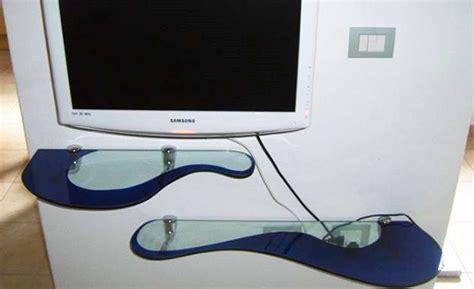 Mensole Angolari Vetro - mensole di vetro colorato