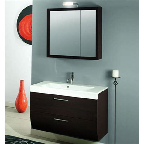 new day nn4 wall mounted single sink bathroom vanity set