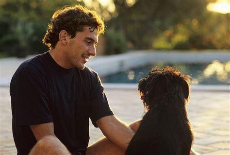 Ayrton Senna Wikipedia The Free Encyclopedia | file ayrton senna with a dog jpg wikipedia