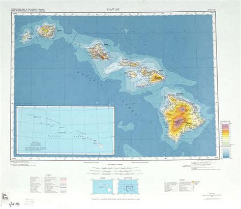 map usa hawaii large detailed topographical map of hawaii usa hawaii