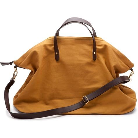 A Weekend Bag For The by Canvas And Leather Weekender Bag Carpenter Bags