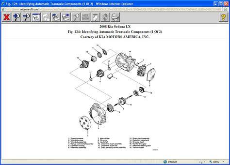 Kia Sedona Gearbox Problems Kia Sedona Transmission Filter I A 2008 Kia Sedona