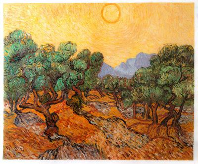Sepatu Canvas Series Gogh 100 Best Quality gogh olive tree paintings in on canvas gogh studio