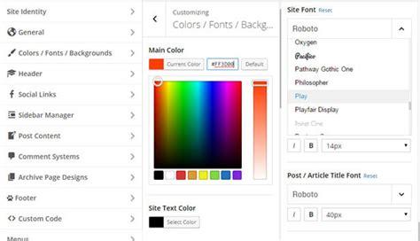 newspaper theme customizer not working magone 173 responsive magazine news wordpress theme by