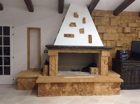 camino rustico in pietra camini in pietra 40 idee dal classico al moderno