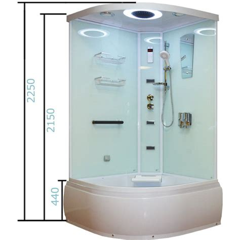 shower bath cubicle aeros 16090 shower bath cubicle enclosure in aqua buy