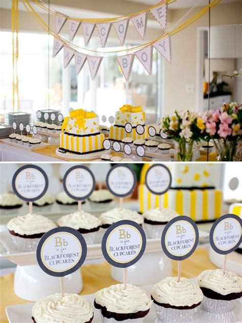bumble bee quot b is for baby quot shower honey bee theme