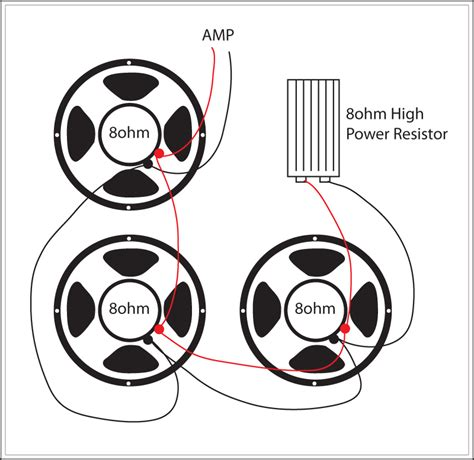 power resistor speaker reverb replace one speaker with high power 8 ohm resistor the gear page