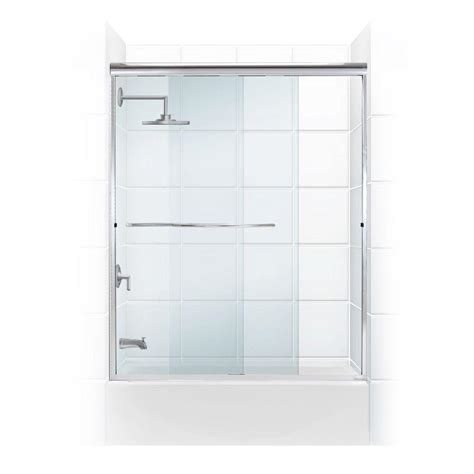 Coastal Shower Doors Paragon 3 8 Series 60 In X 58 In Shower Door Bar