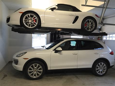 residential car lift project holzmacher electric