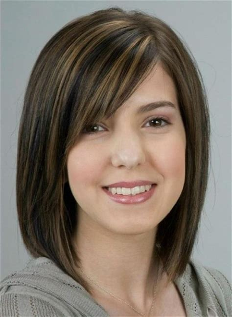 hairstyles for round faces medium length hair cuts 25 beautiful medium length haircuts for round faces