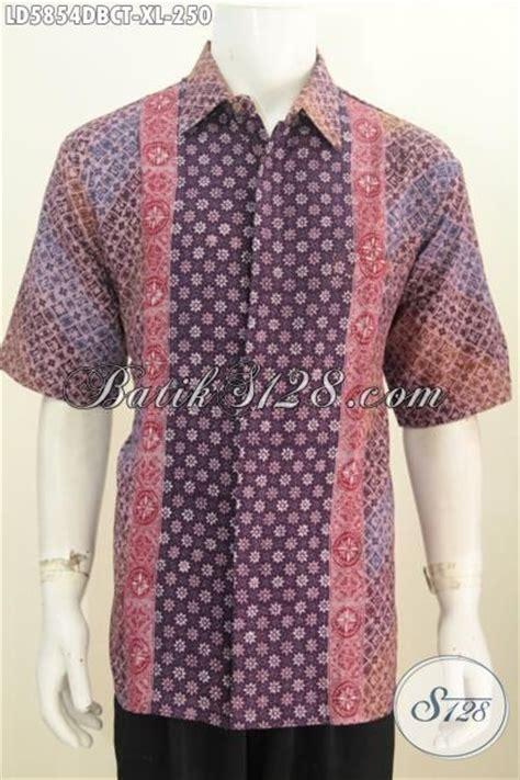 Hem Batik Dolbi batik hem trendy untuk lelaki dewasa busana batik gaul ukuran xl bahan kain doby model lengan