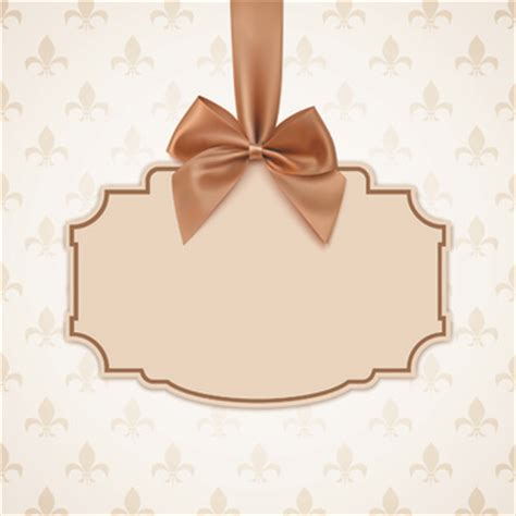 bow cards template bows cards free vector 13 116 free vector for