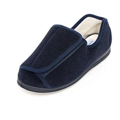 large slippers for swollen 187 memory foam wide washable slippers antimicro