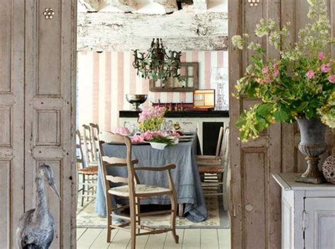 Shabby chic french country dining room ideas Home