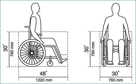wheelchair measurement standard