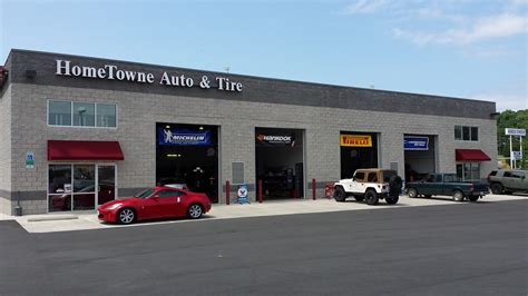 hometowne auto repair  tire  celebrate grand opening