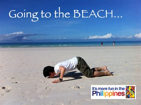 Beach Meme - what is your it s more fun in the philippines meme