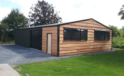 Steel Garages Ireland by Drs Steel Buildings Sheds Garages Roofing Northern