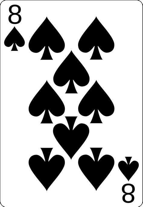 File:8 of spades.svg - Wikimedia Commons