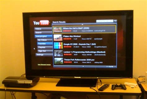 accessing youtube xl on the television youtube comes to your tv with new xl version alphabet
