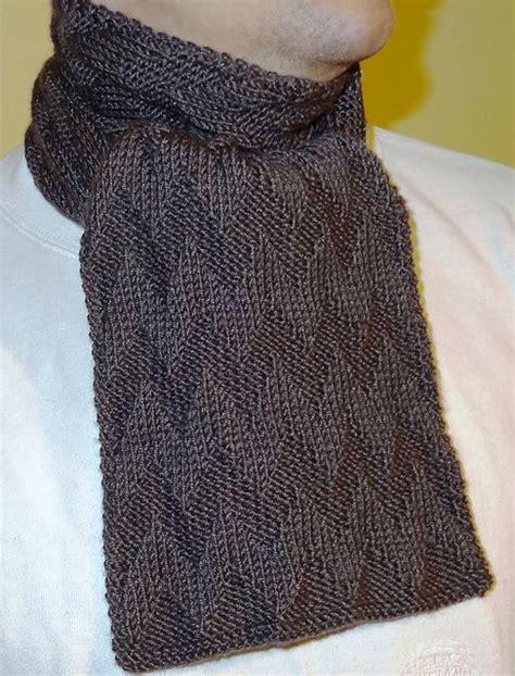 knitting patterns mens scarf simple free pattern simple chevron pattern scarf by m 243 nika m
